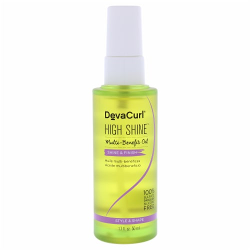 DevaCurl High Shine Multi Benefit Oil by DevaCurl for Unisex - 1.7 oz Oil Perspective: front