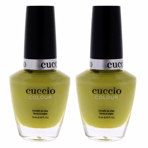 Cuccio Colour Nail Polish  Seriously Celsius  Pack of 2 0.43 oz Perspective: front
