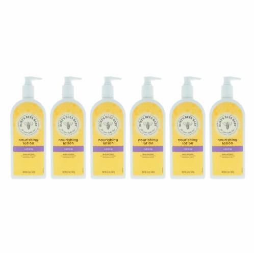 Burt's Bees Baby Nourishing Lotion Calming  Pack of 6 12 oz Perspective: front
