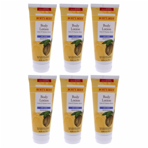 Burt's Bees Cocoa and Cupuacu Butters Body Lotion  Pack of 6 6 oz Perspective: front