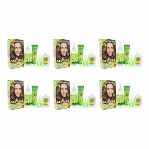 Garnier Nutrisse Nourishing Color Creme  73 Dark Golden Blonde  Pack of 6 Hair Color 1 Applic Perspective: front