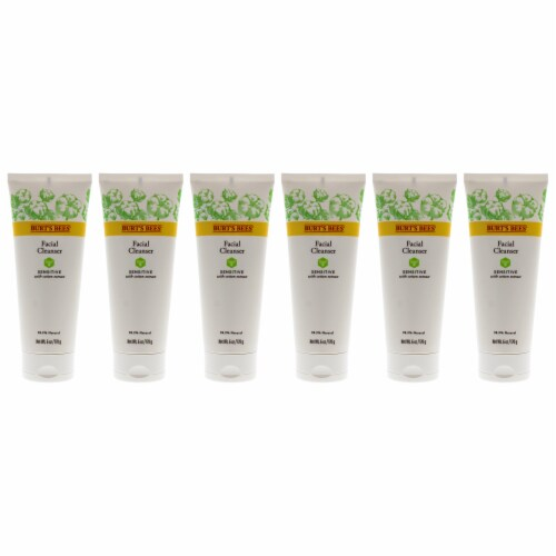 Burt's Bees Sensitive Facial Cleanser  Pack of 6 6 oz Perspective: front