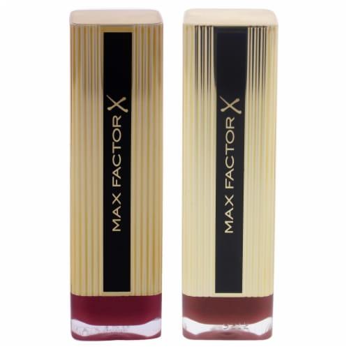 Alterna Colour Elixir Lipstick Kit 0.14oz Lipstick  080 Chilli, 0.001oz Lipstick  125 Icy Ros Perspective: front