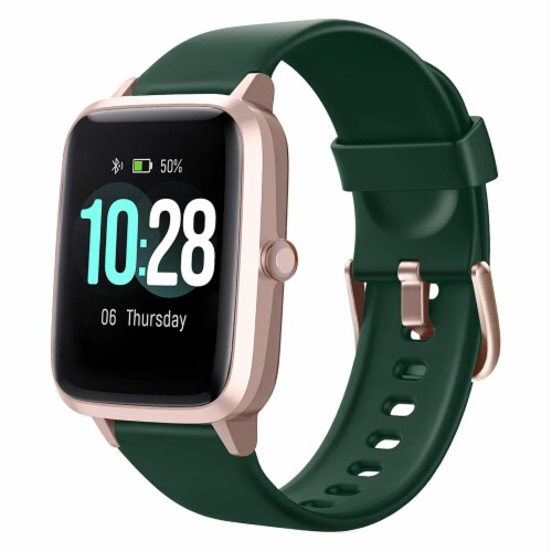 Letsfit ID205L Smartwatch Heart Rate & Activity Monitor - Emerald Perspective: front