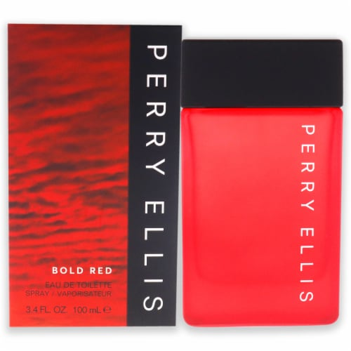 Perry Ellis Bold Red EDT Spray 3.4 oz Perspective: front