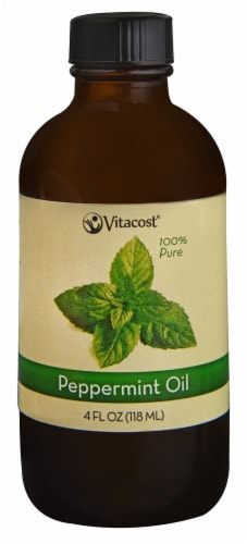 Vitacost  Essential Oils 100% Pure Peppermint Perspective: front