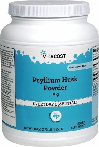 Vitacost Psyllium Husk Powder Perspective: front