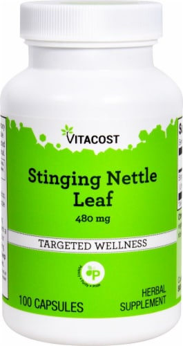Vitacost Stinging Nettle Leaf Capsules Perspective: front