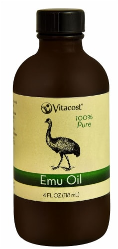 Vitacost Essential Oils 100% Pure Emu Oil Perspective: front