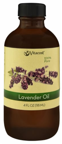 Vitacost Essential Oils 100% Pure Lavender Oil Perspective: front