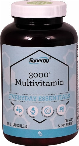 Vitacost  Synergy 3000® Multivitamin Perspective: front