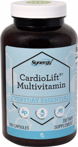 Vitacost  Synergy CardioLift®† Multivitamin Perspective: front