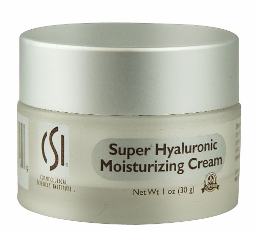 CSI  Super Hyaluronic Moisturizing Cream - Non-GMO Perspective: front