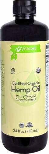 Vitacost Non GMO Hemp Oil Perspective: front