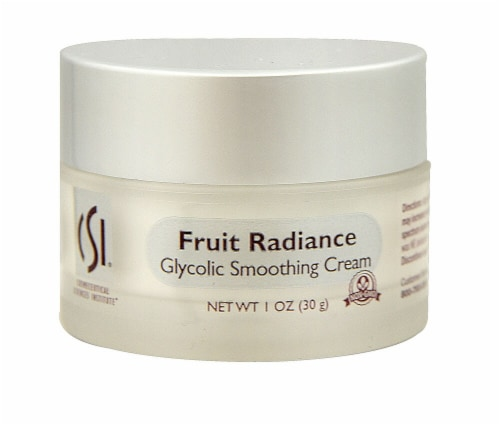 CSI  Fruit Radiance Glycolic Smoothing Cream - Non-GMO Perspective: front