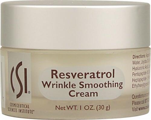 CSI  Resveratrol Wrinkle Smoothing Cream - Non-GMO Perspective: front