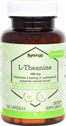 Vitacost  Synergy L-Theanine from Suntheanine Perspective: front