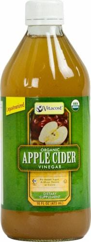 Vitacost Organic Apple Cider Vinegar Perspective: front