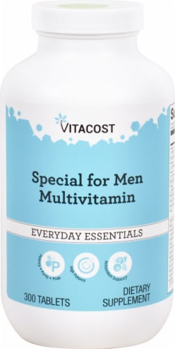 Vitacost  Special for Men Multi-Vitamin Perspective: front