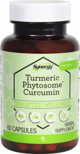 Vitacost  Synergy Turmeric Phytosome™ Curcumin with Meriva® Perspective: front
