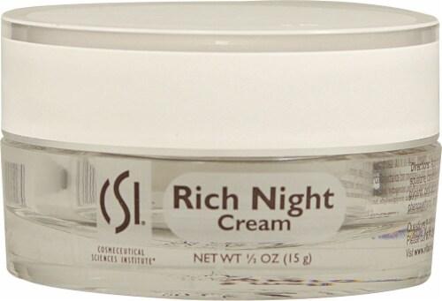 CSI  Rich Night Cream - Non-GMO Perspective: front
