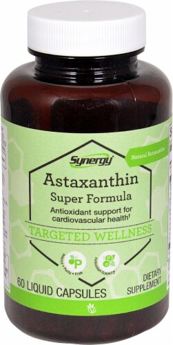 Vitacost  Synergy Astaxanthin Super Formula Perspective: front