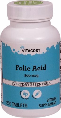 Vitacost  Folic Acid Perspective: front