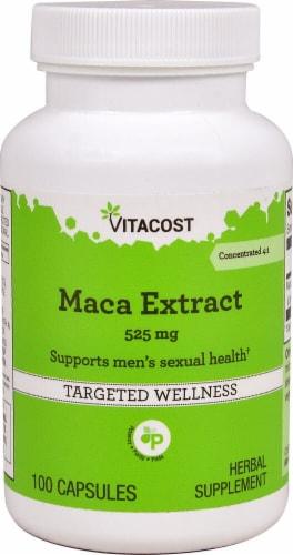 Vitacost  Maca Extract Perspective: front