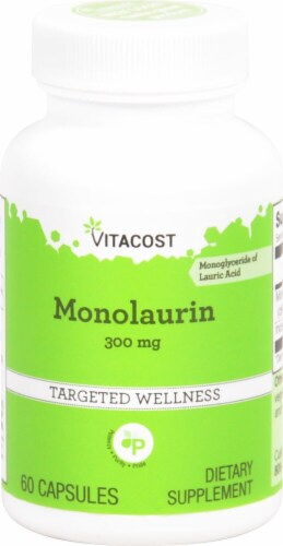 Vitacost  Monolaurin Perspective: front