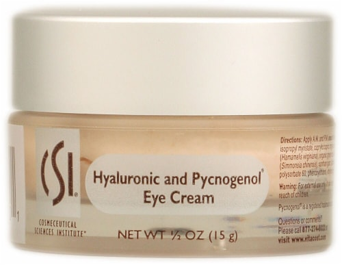 CSI  Hyaluronic and Pycnogenol(R) Eye Cream - Non-GMO Perspective: front