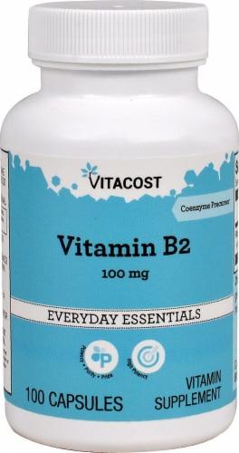 Vitacost Vitamin B2 Perspective: front