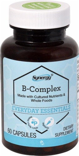 Vitacost Synergy B-Complex Dietary Supplement Perspective: front