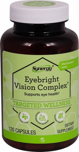 Vitacost Synergy Eyebright Vision Complex Capsules Perspective: front