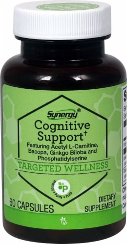 Vitacost Synergy Cognitive Support Dietary Supplement Perspective: front