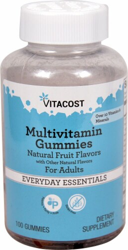 Vitacost  Multivitamin Gummies for Adults Perspective: front