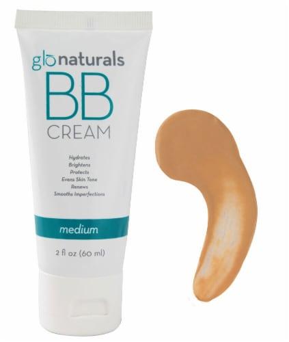 Glonaturals Medium Color BB Cream Perspective: front