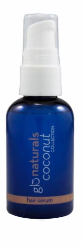 Vitacost Glonaturals Coconut Collection Hair Serum Perspective: front
