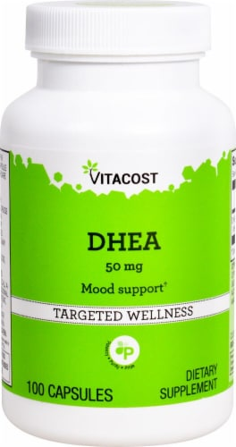 Vitacost  DHEA Perspective: front