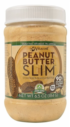 Vitacost SLIM Powdered Peanut Butter Perspective: front