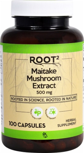 Vitacost  ROOT2 Maitake Mushroom Extract - Standardized Perspective: front