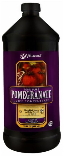 Vitacost  100% Pure Pomegranate Juice Concentrate Perspective: front