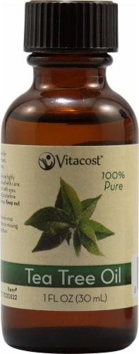 Vitacost  Essential Oils 100% Pure Tea Tree Perspective: front