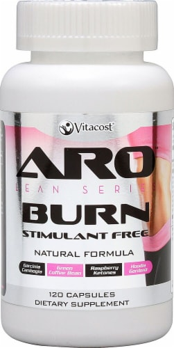 ARO - Vitacost Lean Series Burn Stimulant Free Capsules Perspective: front