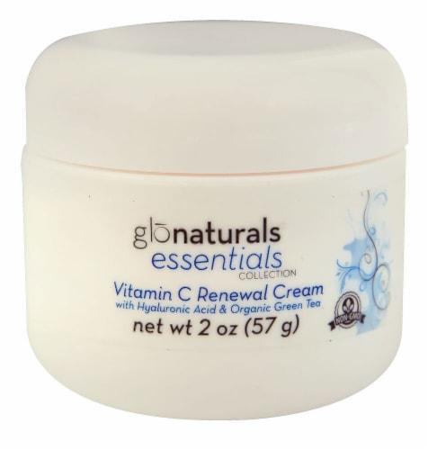 Vitacost Glonaturals Essentials Collection Vitamin C Renewal Cream Perspective: front
