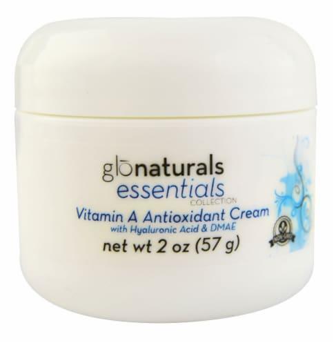 Vitacost - Glonaturals Essentials Vitamin A Antioxidant Cream Perspective: front