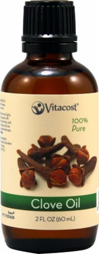 Vitacost Essential Oils 100% Pure Clove Oil Perspective: front