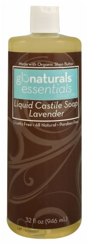 Vitacost - Glonaturals Essentials Collection Lavender Liquid Castile Soap Perspective: front
