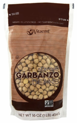Vitacost Garbanzo Beans Perspective: front