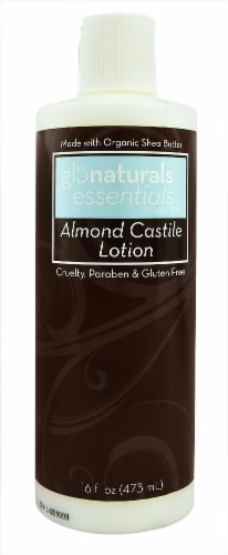 Glonaturals Essentials Collection Almond Castile Lotion Perspective: front