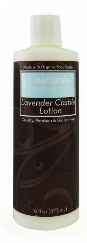 Vitacost - Glonaturals Essentials Collection Lavender Castile Lotion Perspective: front